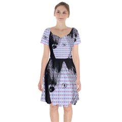 Heartwill Short Sleeve Bardot Dress