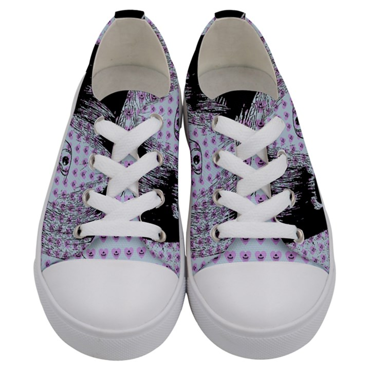 Heartwill Kids  Low Top Canvas Sneakers