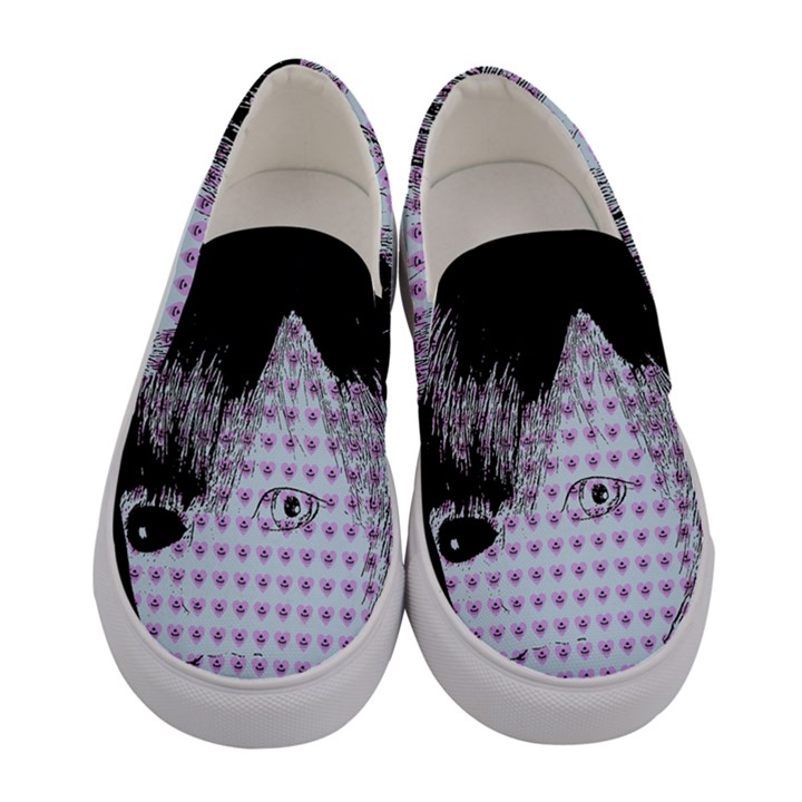Heartwill Women s Canvas Slip Ons