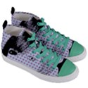 Heartwill Women s Mid-Top Canvas Sneakers View3