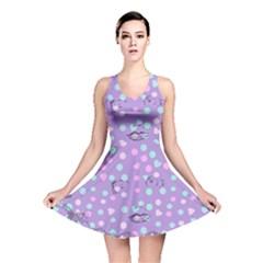 Little Face Reversible Skater Dress