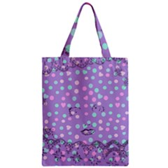 Little Face Zipper Classic Tote Bag