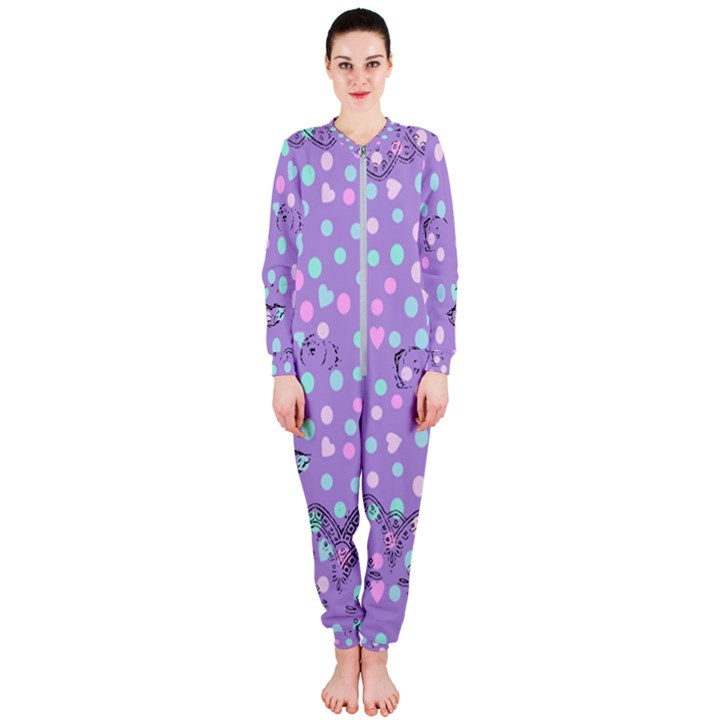Little Face OnePiece Jumpsuit (Ladies)