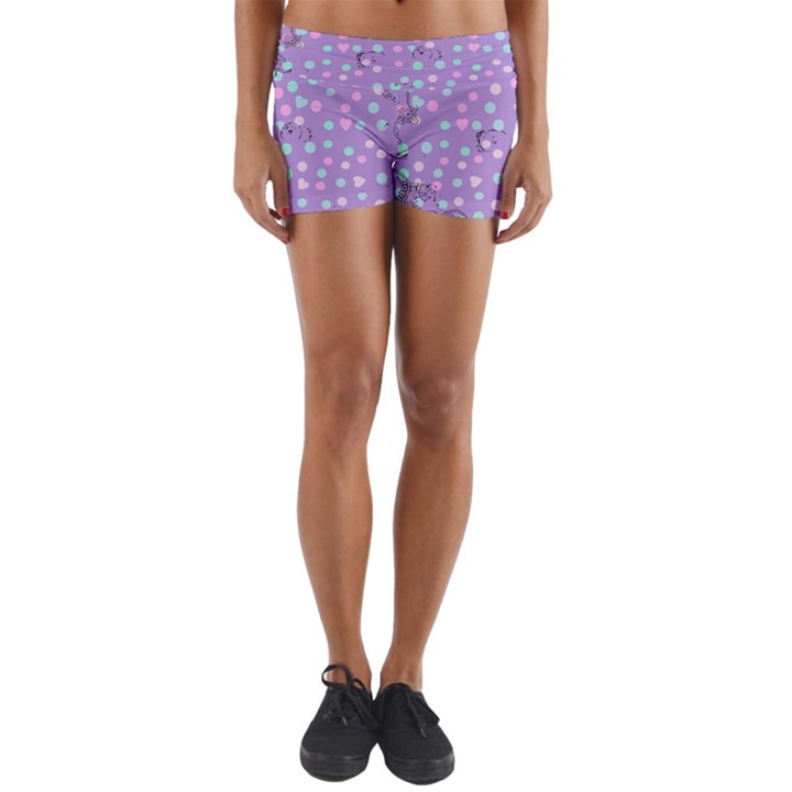 Little Face Yoga Shorts