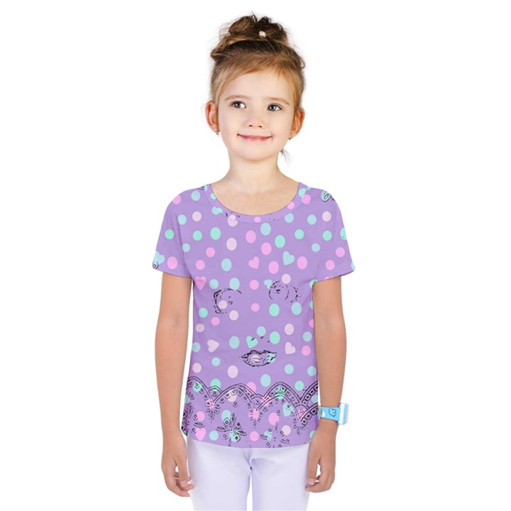 Little Face Kids  One Piece Tee