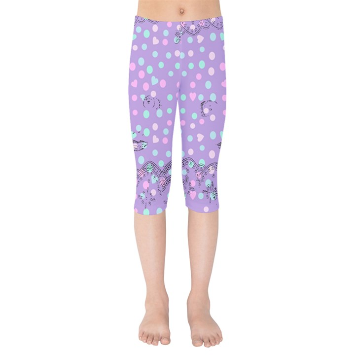 Little Face Kids  Capri Leggings