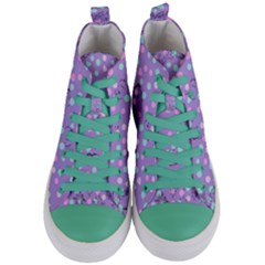 Little Face Women s Mid Top Canvas Sneakers