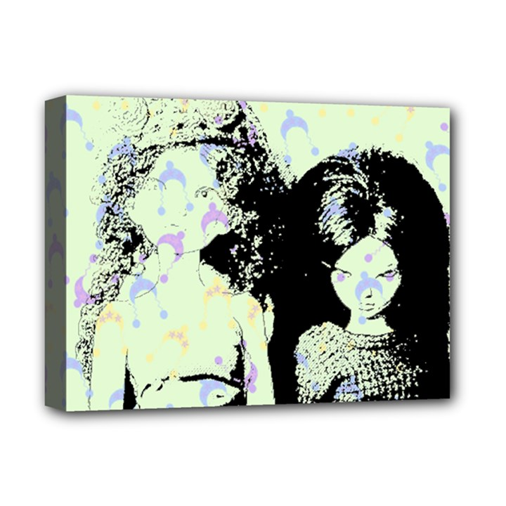 Mint Wall Deluxe Canvas 16  x 12