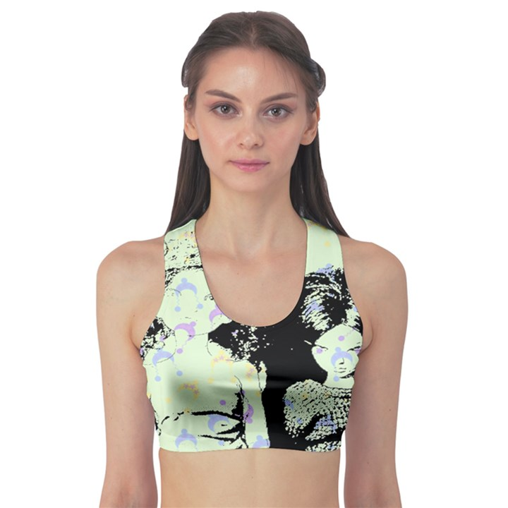Mint Wall Sports Bra
