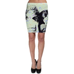 Mint Wall Bodycon Skirt