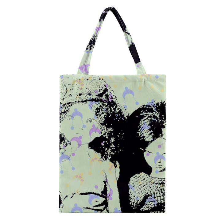 Mint Wall Classic Tote Bag