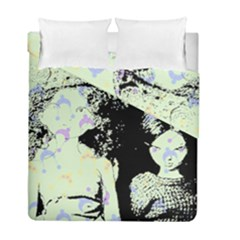 Mint Wall Duvet Cover Double Side (full/ Double Size)