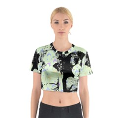 Mint Wall Cotton Crop Top