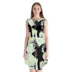 Mint Wall Sleeveless Chiffon Dress