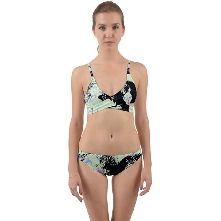 Mint Wall Wrap Around Bikini Set