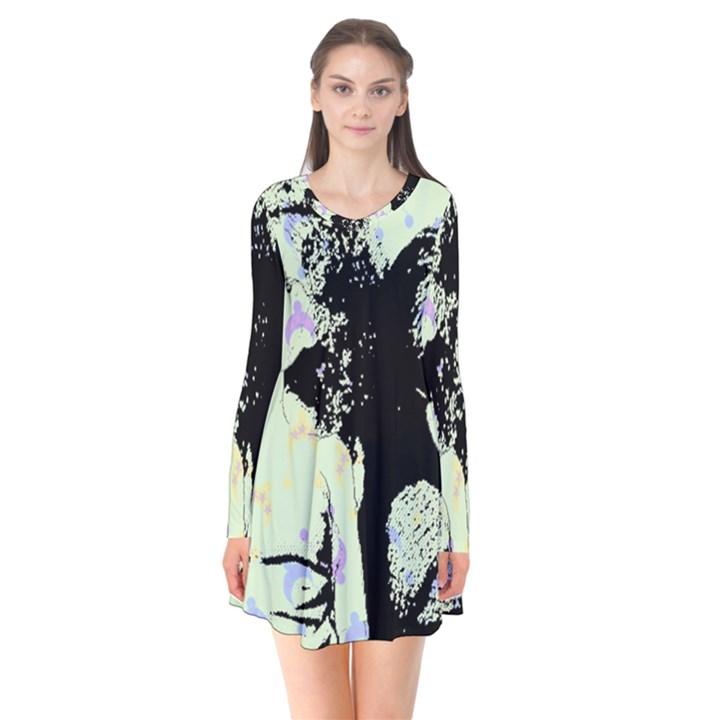 Mint Wall Flare Dress