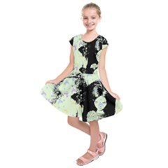 Mint Wall Kids  Short Sleeve Dress