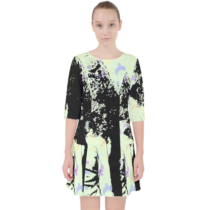 Mint Wall Pocket Dress