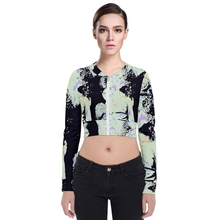 Mint Wall Bomber Jacket