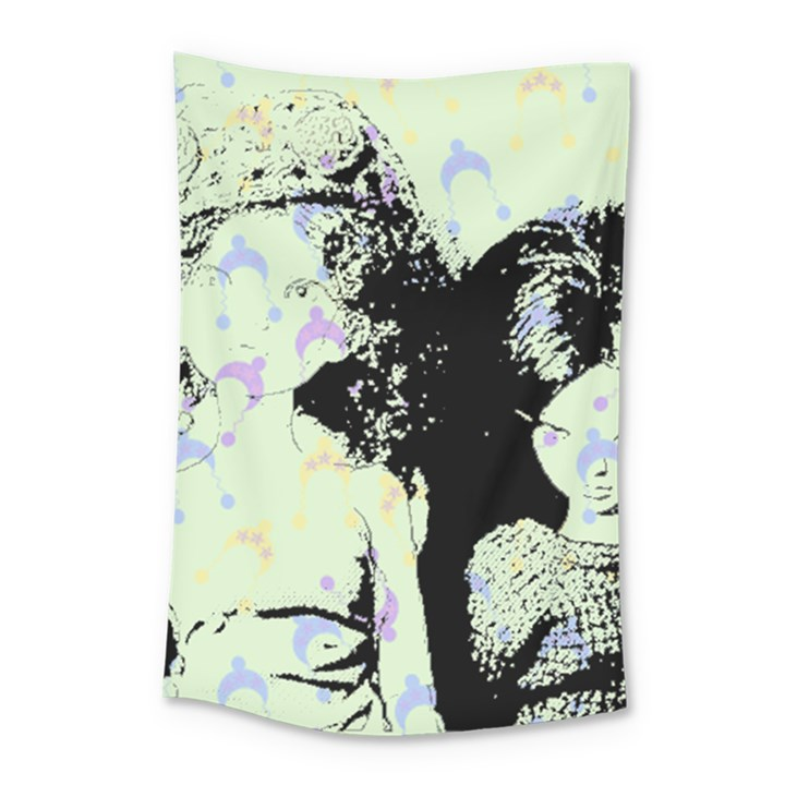 Mint Wall Small Tapestry