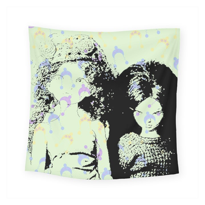 Mint Wall Square Tapestry (Small)
