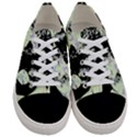 Mint Wall Women s Low Top Canvas Sneakers View1