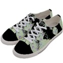 Mint Wall Women s Low Top Canvas Sneakers View2