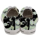 Mint Wall Women s Low Top Canvas Sneakers View4