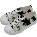 Mint Wall Kids  Low Top Canvas Sneakers View2