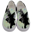 Mint Wall Men s Canvas Slip Ons View1