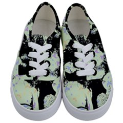 Mint Wall Kids  Classic Low Top Sneakers