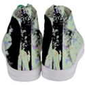 Mint Wall Women s Mid-Top Canvas Sneakers View4