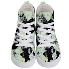 Mint Wall Kid s Hi Top Skate Sneakers