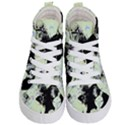Mint Wall Kid s Hi-Top Skate Sneakers View1