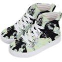 Mint Wall Kid s Hi-Top Skate Sneakers View2