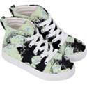 Mint Wall Kid s Hi-Top Skate Sneakers View3