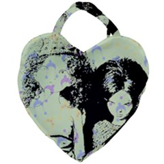 Mint Wall Giant Heart Shaped Tote