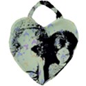 Mint Wall Giant Heart Shaped Tote View1