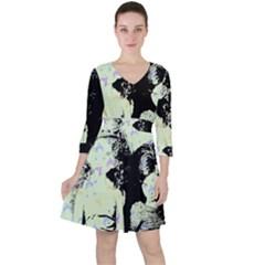 Mint Wall Ruffle Dress