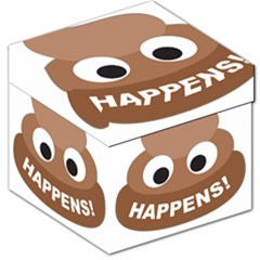 Poo Happens Storage Stool 12
