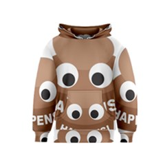 Poo Happens Kids  Pullover Hoodie