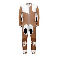 Poo Happens Onepiece Jumpsuit (kids)