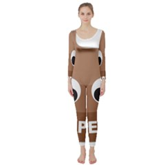 Poo Happens Long Sleeve Catsuit