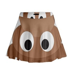 Poo Happens Mini Flare Skirt