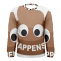 Poo Happens Men s Long Sleeve Tee View1