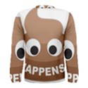 Poo Happens Men s Long Sleeve Tee View2
