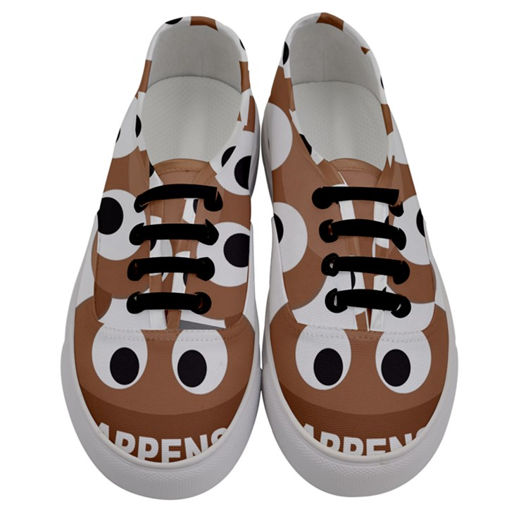 Poo Happens Men s Classic Low Top Sneakers