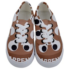Poo Happens Kids  Classic Low Top Sneakers