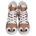 Poo Happens Women s Hi-Top Skate Sneakers View1
