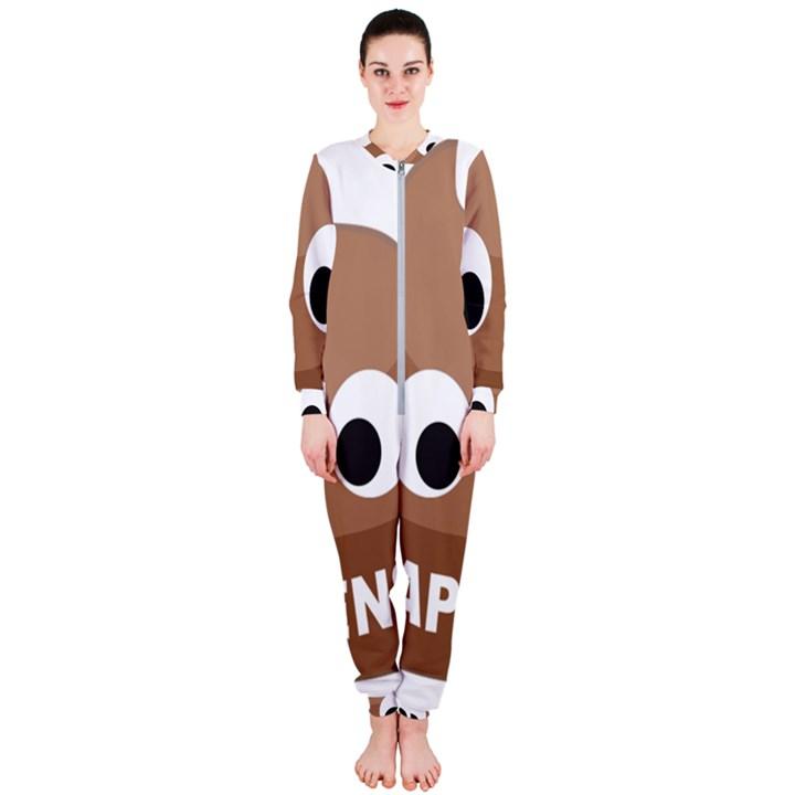 Poo Happens OnePiece Jumpsuit (Ladies)